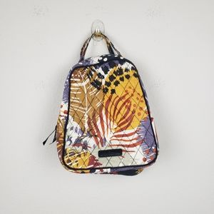 Vera Bradley Painted Feathers Lunch Tote Bag